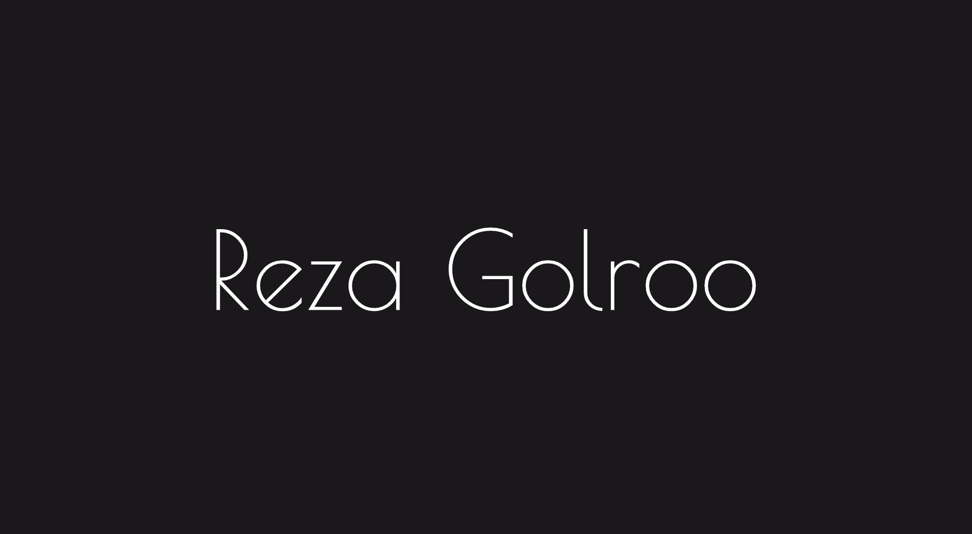 Reza Golroo