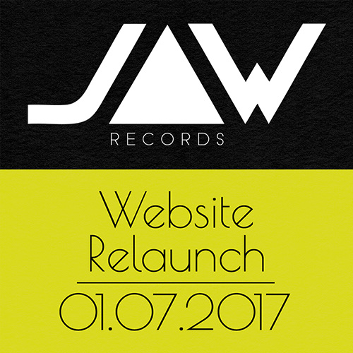 Jaw Records Website Relaunch