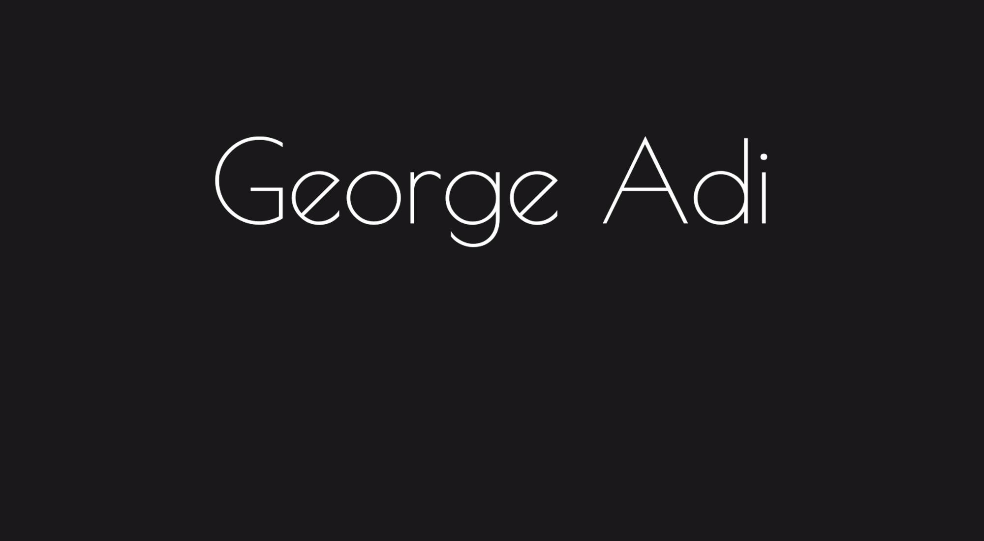 George Adi